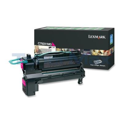 LEXMARK C792 PRINT CARTRIDGE MAGENTA RP 20K
